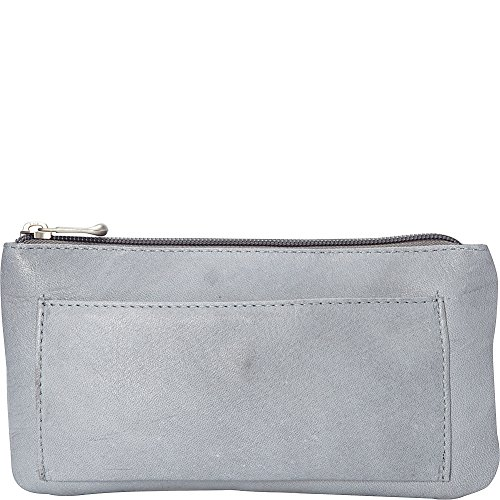 le-donne-leather-harper-clutch-gray