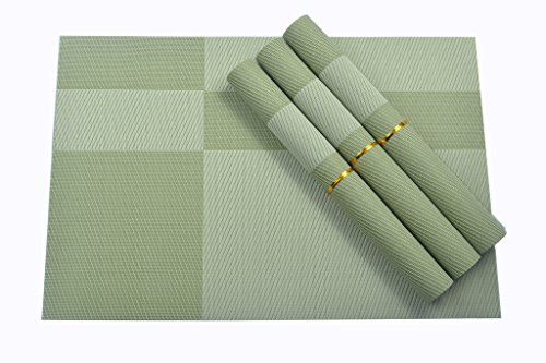 table placemats green - 6