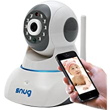Snug Baby Monitor - WiFi Video Camera with Audio for iPhone/Samsung