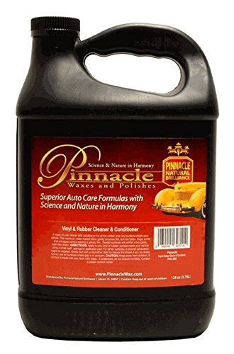 Pinnacle Natural Brilliance PIN-382 Vinyl and Rubber Cleaner and Conditioner, 128 fl. oz.