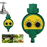 A-SZCXTOP 1/2''Automatic Watering Irrigation Controller Water Hose Timer Timing Faucet for Home Outdoor Garden Irrigation