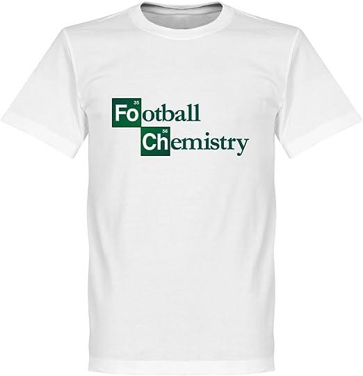 Química – Camiseta de fútbol, Color Blanco Blanco Blanco 4XL: Amazon.es: Ropa y accesorios