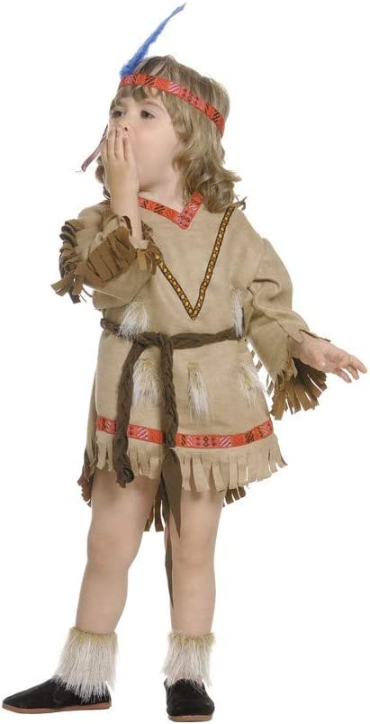 Disfraz de india. Talla 1/2 años.: Amazon.es: Juguetes y juegos