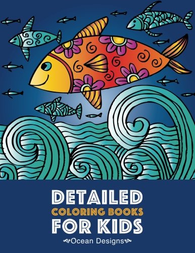 Detailed Coloring Books Kids Underwater product image