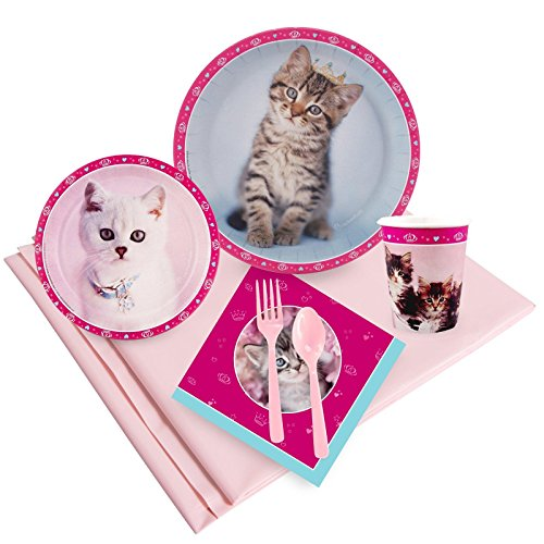[Rachael Hale Glamour Cats Party Supplies - Party Pack for 16] (Hello Kitty Pinata Kit)