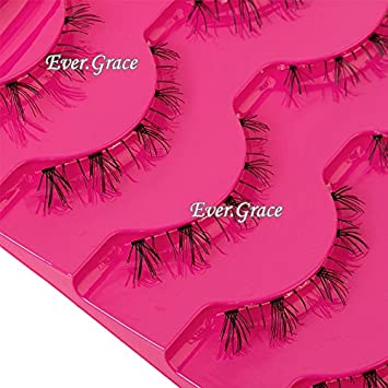 30c14fe9e74 Image Unavailable. Image not available for. Color: 5 Pairs Black Natural Lower  False Eyelashes Under Bottom Fake Eye Lashes Makeup