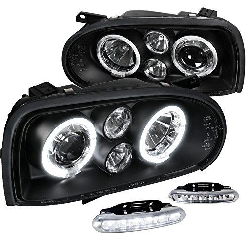 Black Projector Headlights Driving Lamps