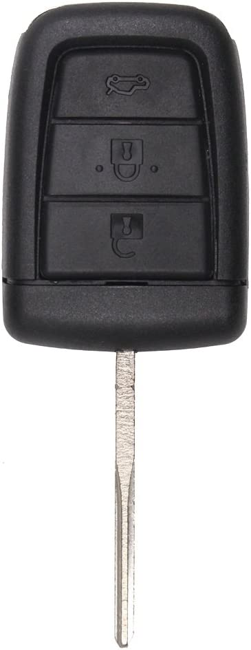Keyecu Uncut Remote Key Shell Case Fob 3+1 Button for Chevrolet Holden Commodore