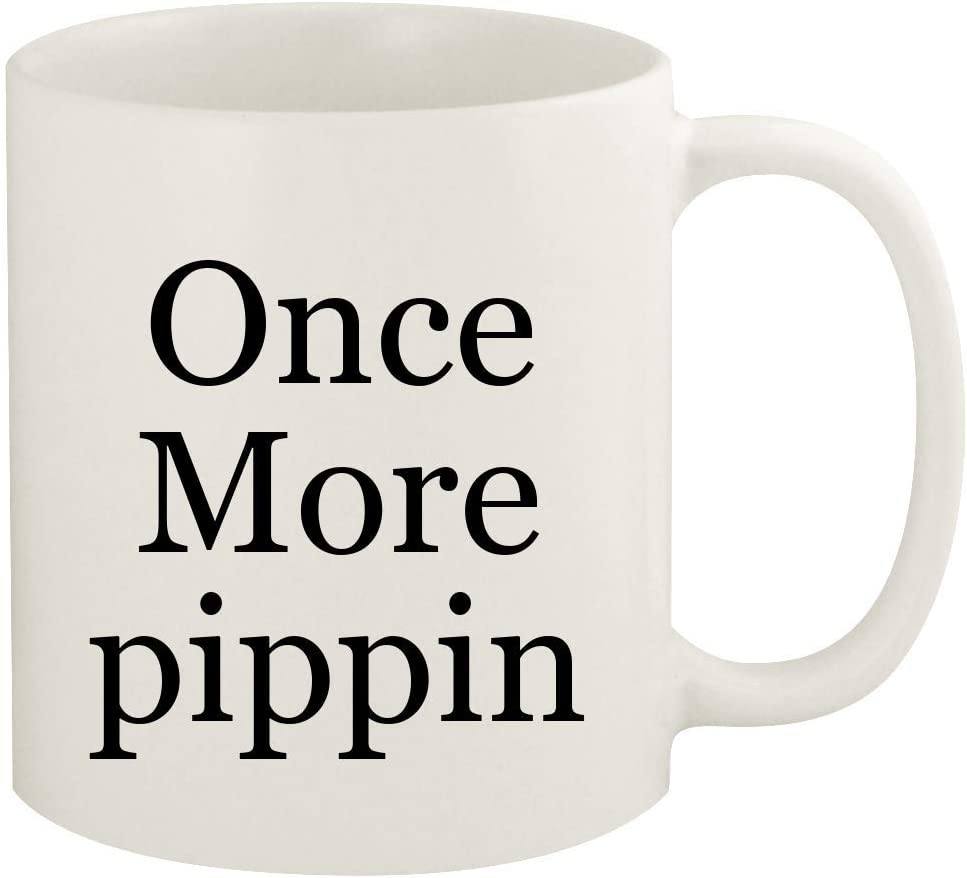 Once More pippin - 11oz Ceramic White Coffee Mug Cup, White