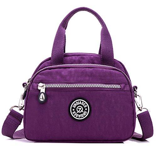 Sac Mode Outreo Épaule Violet Petit Porté Sacoche Imperméable Besace À Sport Fille Pour Léger De Bandoulière Main Bag Femme Loisir fWqdRqAw