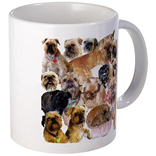 CafePress Brussels Griffon Carol's Collage Mug Unique Coffee Mug, Coffee Cup