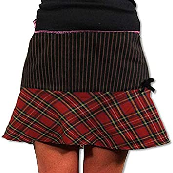 Horror-Shop Plaid Mini-Falda roja XS / 32: Amazon.es: Juguetes y ...