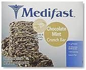 Medifast Chocolate Mint Crunch Bars (1 Box/7 Servings)