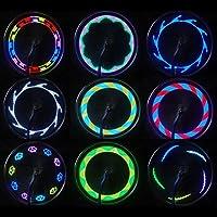 Vovotrade Rueda Ligero, 14 LED 30 Patrones de iluminación Luces ...