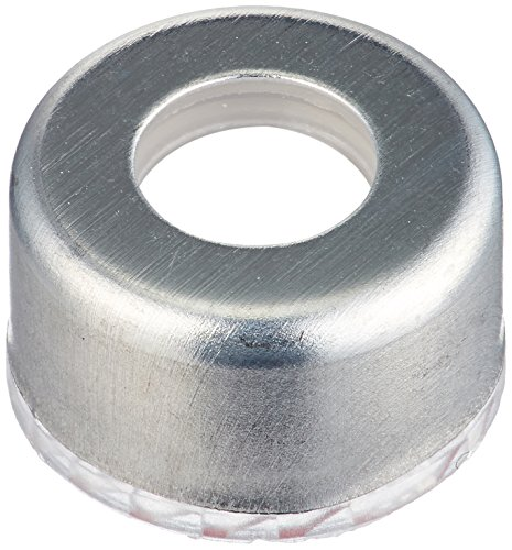 JG Finneran R.A.M. 5395M-09FN Preassembled Screw Threaded Magnetic Cover Cap and PTFE/Silicone Septa, 9mm Cap Size (Case of...