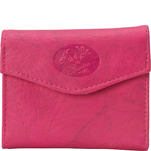 Buxton Heiress Pik-Me-Up Mini-Trifold (Fuchsia Pink) ()