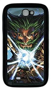 Wonderful World of Warcraft Samsung Galaxy Note 2 N7100 Case black - Fashion World of Warcraft Samsung Galaxy Note 2 N7100 Case #89667