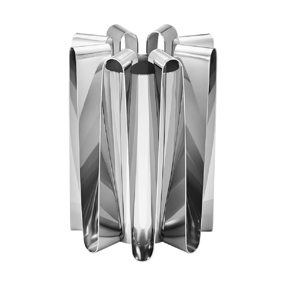 Georg Jensen Frequency Vase, Large, Stainless Steel, by Kelly Wearstler