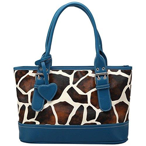 Giraffe Print Fashion Tote - 3