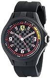Automotive : Ferrari Men's 0830005 Pit Crew Analog Quartz Black Watch