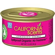 California Scents Spillproof Organic Air Freshener, Coronado Cherry, 1.5 Ounce (Pack of 12)