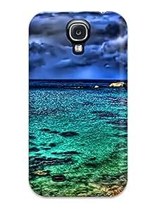 New Fashion Premium Tpu Case Cover For Galaxy S4 - The Seascape