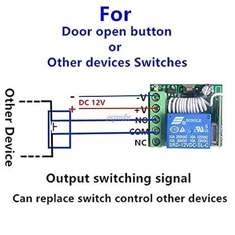 DC 12V 1CH 433MHz Wireless Module Universal-Rf-Fern Receiver-Controller PCB RF-Fernbedienung Control Switch Receiver-Controller PCB Board