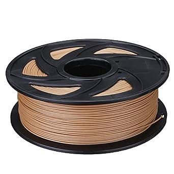 Farwind Filamento de color madera PLA para impresora 3D, 1,75 mm ...