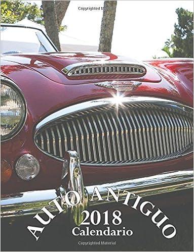 Calendario Auto.Auto Antiguo 2018 Calendario Edicion Espana Spanish