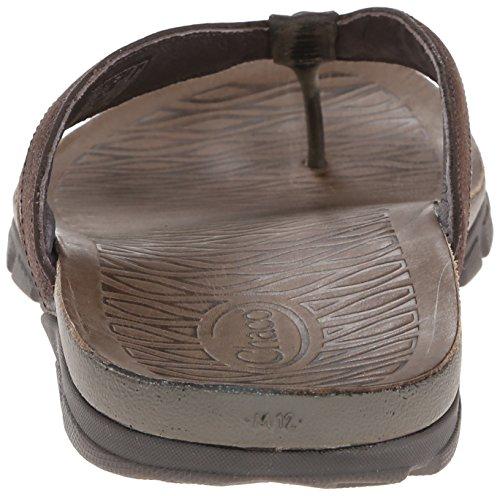 Chaco Herren Cabrera Flip Sandale Schokoladen-Schildkröte