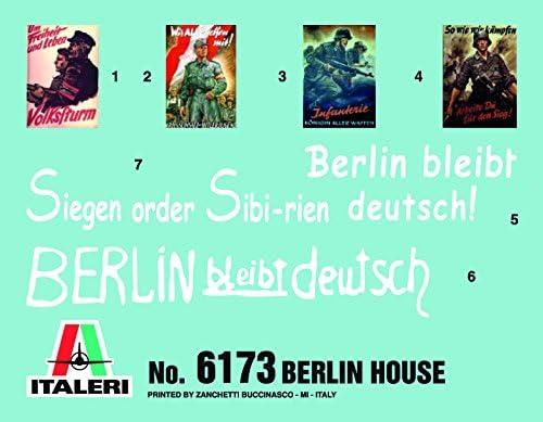 Italeri 510006173 - 1:72 Berlin House Set