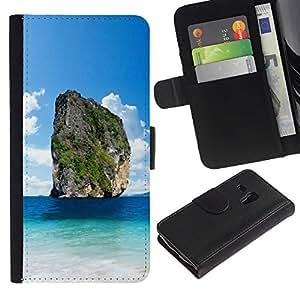 Kistler views Colorida Impresión Funda Cuero Monedero Caja Bolsa Cubierta Caja Piel Id Credit Card Slots Para Samsung Galaxy S3 MINI / I8190 / I8190N (Not For Galaxy S3!!!)