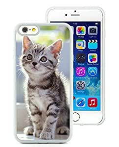 Fashion Style iPhone 6 Case,Christmas Cat White iPhone 6 4.7 Inch TPU Case 13