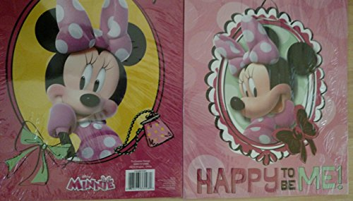 Set of 2 Minnie Mouse Pocket Folders