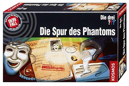 Kosmos 631604 - Die drei ??? - Die Spur des Phantoms Lernen Spiele für Drinnen