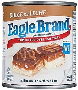 Eagle brand dulce de leche caramel flavored sauce 300 ml for Dulce coffee studio