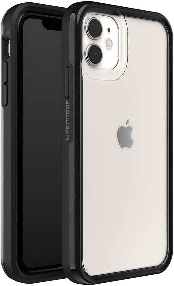 LifeProof SLAM Series Case for iPhone 11 - Black Crystal (Clear/Black)