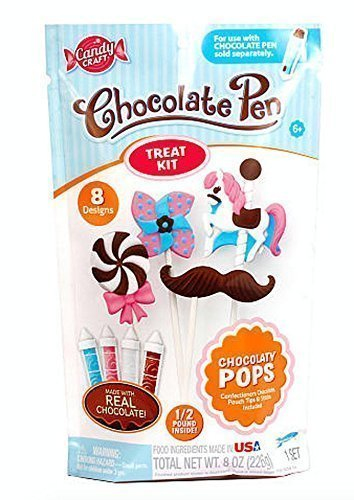 Skyrocket Toys Candy Craft Chocolate Pen Treat Kit - Chocolatey Pops by Skyrocket Toys