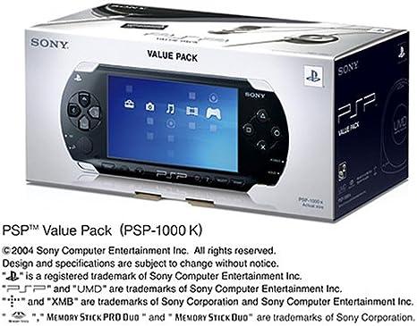 PSP バリューパック (PSP-1000K) 【メーカー生産終了】: Amazon.es: Videojuegos