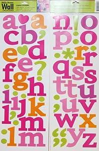 Superior Main Street Wall Creations Jumbo Stickers   A B Cu0027s Colorful Design Ideas