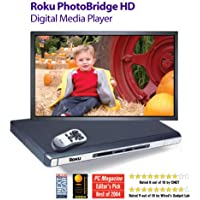 Roku PhotoBridge HD1500 HD Gallery Collection (Digital Media Player with Art Pack bundle)