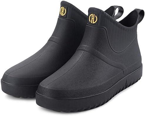 jessie Men Rain Boots Outdoor Slip On
