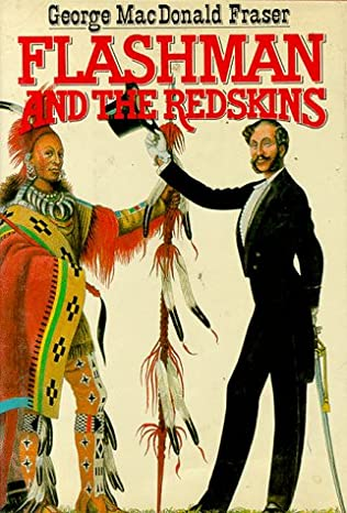 book cover of Flashman and the Redskins