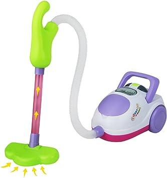 Mini Aspirapolvere Giocattolo per Bambini Set Pulizie Regali
