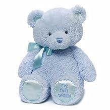 Gund Baby Gund My 1st Teddy Plush Toy, Blue, 15