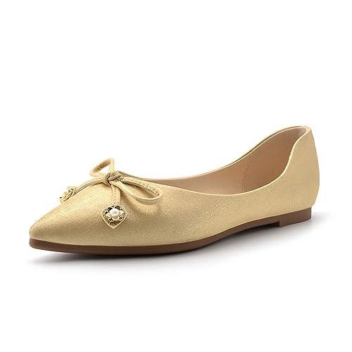 scarpe con fili d'oro