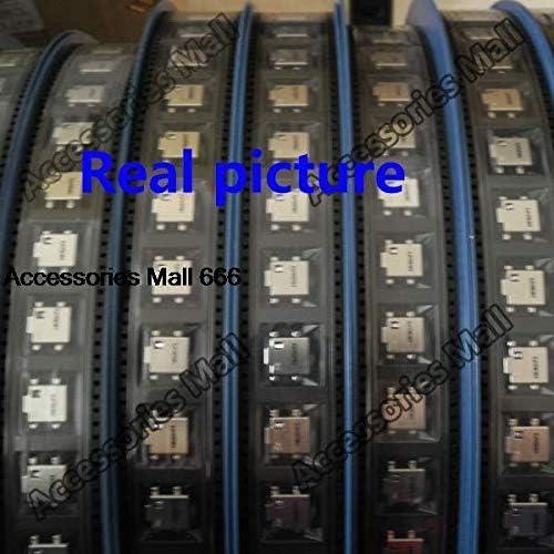 ShineBear 5X-200X DC Power Jack Connector Power Harness Port Plug Socket for Samsung NP 300E 300V 305E 305V 350 350 355 Series DC Jack Cable Length: 200 PCS