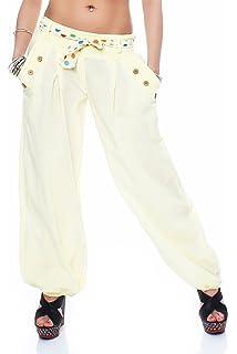 Malito Bombacho clásico Design Boyfriend Aladin Harem Pantalón Sudadera  Baggy Yoga 3417 Mujer Talla Única e9bf833bd5aa