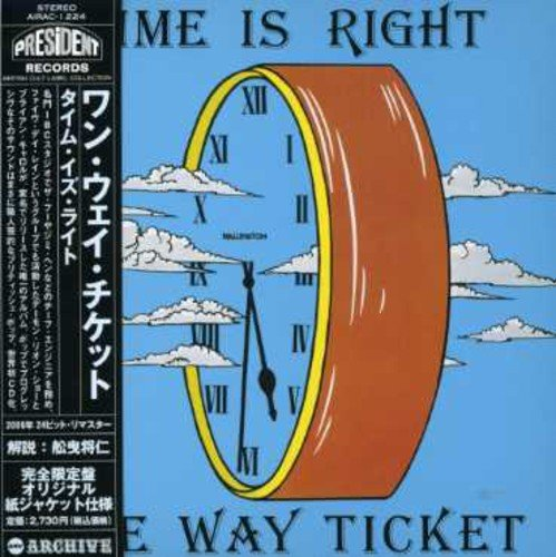 Date Ticket (Time Is Right? (Mini LP Sleeve))