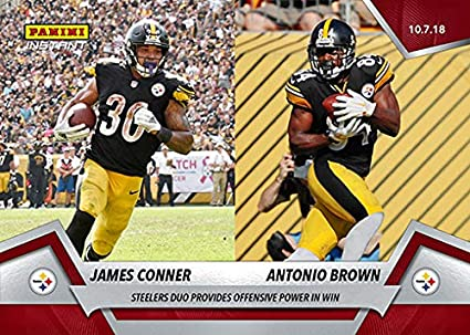 Image Unavailable. Image not available for. Color  2018 Panini Instant NFL  Football  53 James Conner Antonio ... fb211d861